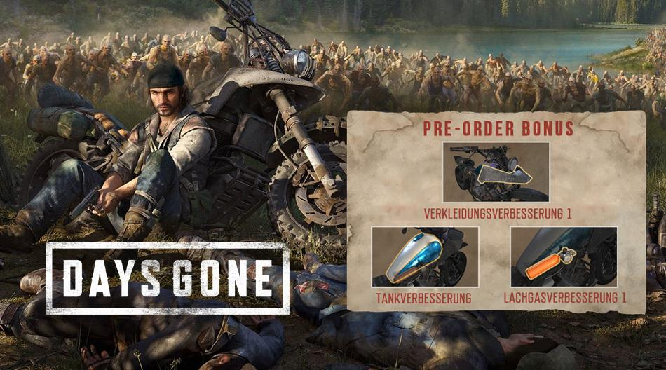days gone collector 39 s edition inkl bonus dlcs. Black Bedroom Furniture Sets. Home Design Ideas