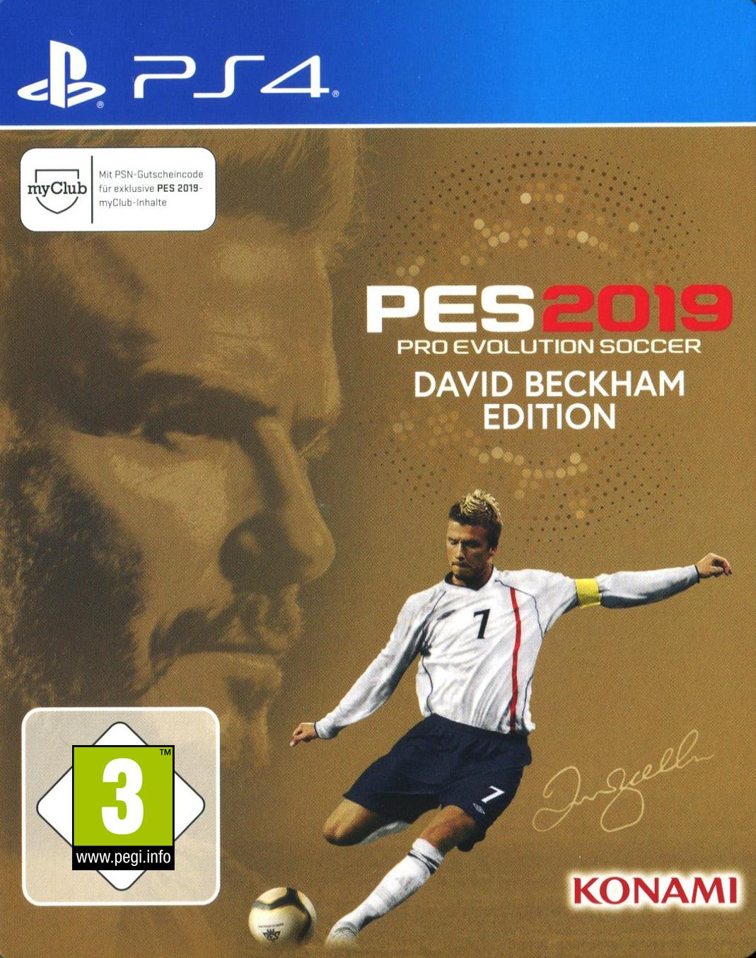 pes 2019 pro evolution soccer beckham edition ps4. Black Bedroom Furniture Sets. Home Design Ideas